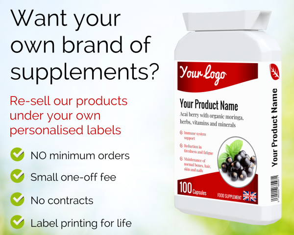Want your own brand of dietary supplements?